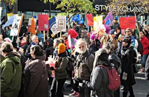 Les citoyens contre l'austérité