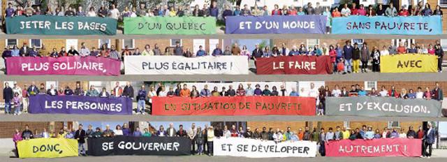 Pour un Québec sans pauvreté