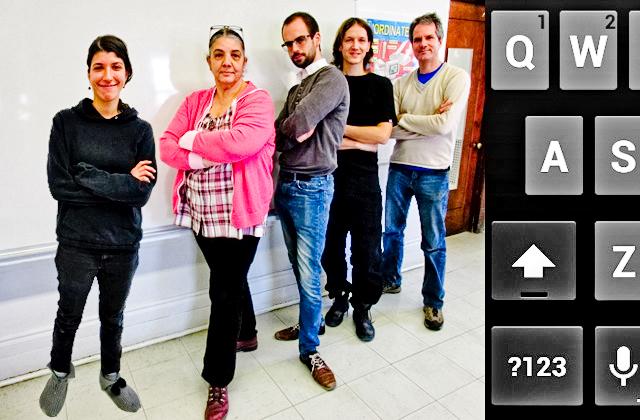 L'équipe du secteur informatique