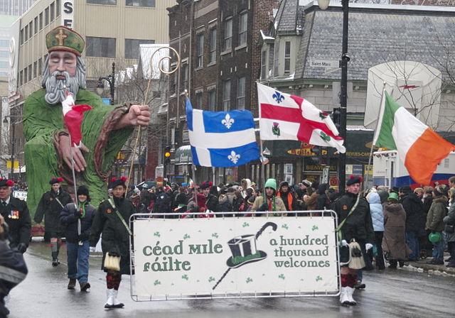 Fête de la Saint-Patrick à Montréal