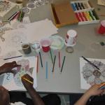 Atelier de mandalas